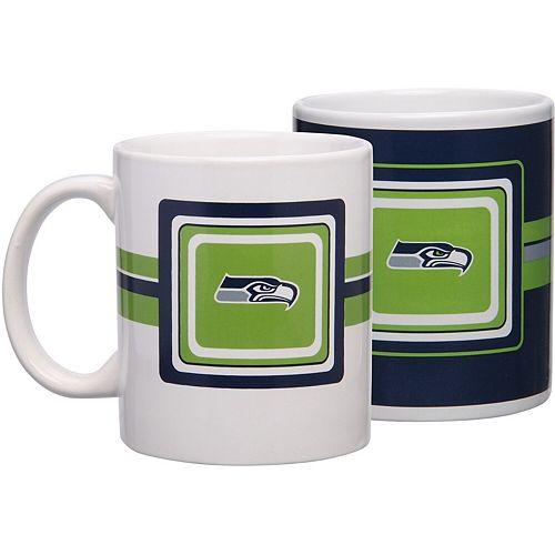 Seattle Seahawks 11oz. Two-Pack Mug Set