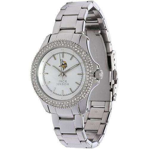 Women's  Minnesota Vikings Glitz Bracelet Watch