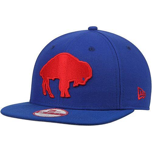 Men's New Era Buffalo Bills Royal Southside Snap Original Fit 9FIFTY Adjustable Snapback Hat -