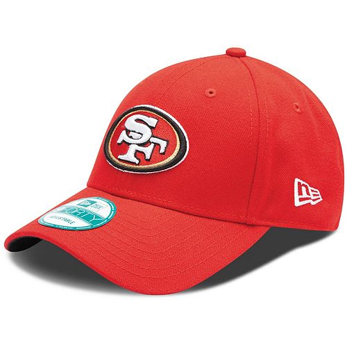 Youth New Era Scarlet San Francisco 49ers League 9FORTY Adjustable Hat