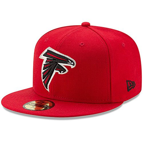 Men's New Era Red Atlanta Falcons Omaha 59FIFTY Hat