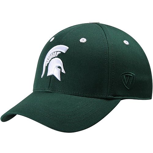 Michigan State Spartans Top of the World Youth The Rookie One-Fit Hat - Green