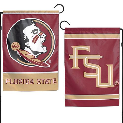 """WinCraft Florida State Seminoles 12"""" x 18"""" Double-Sided Garden Flag"""