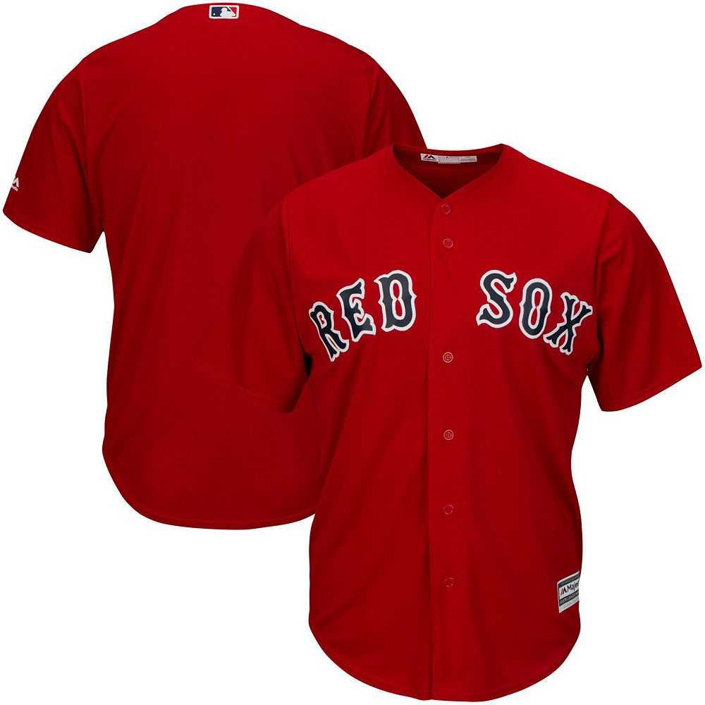 Men's Majestic Red Boston Red Sox Big & Tall Cool Base Team Jersey