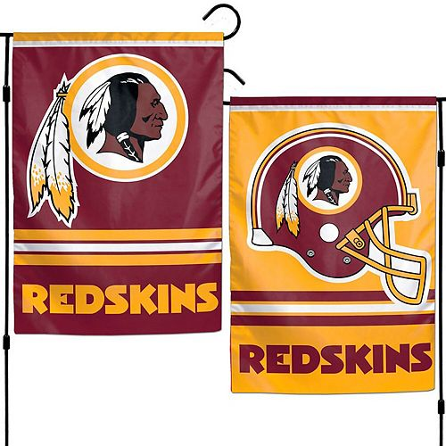 "WinCraft Washington Redskins 12"" x 18"" Double-Sided Garden Flag"