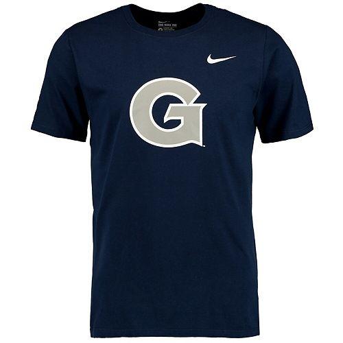 Men's Nike Navy Georgetown Hoyas Big Logo T-Shirt