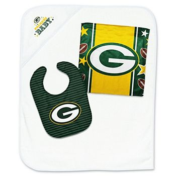 another chance 620c2 a16ce Infant WinCraft Green Bay Packers Three-Piece Gift Set