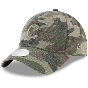 Women's New Era Camo Chicago Cubs Tonal Core Classic 9TWENTY Adjustable Hat