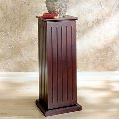 Pedestal Media Cabinet