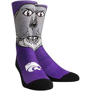 Women's Kansas State Wildcats Mascot Crew Socks