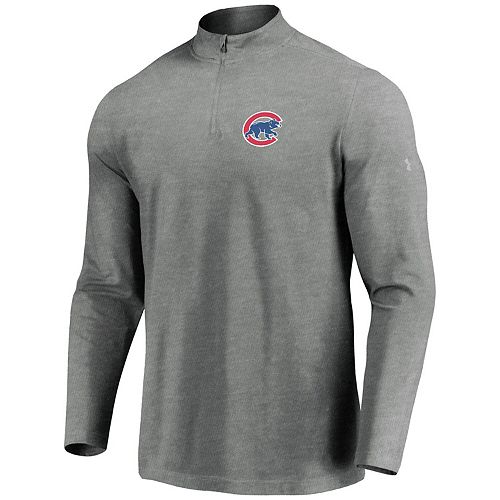 fast delivery multiple colors huge selection of Men's Under Armour Heathered Gray Chicago Cubs Passion ...