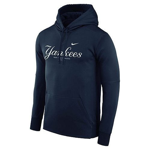 newest a0f7c a7e04 Men's Nike Navy New York Yankees Fleece Pullover ...