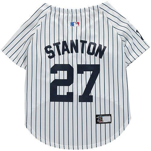 buy popular ddd68 82e91 Giancarlo Stanton New York Yankees Player Dog Jersey
