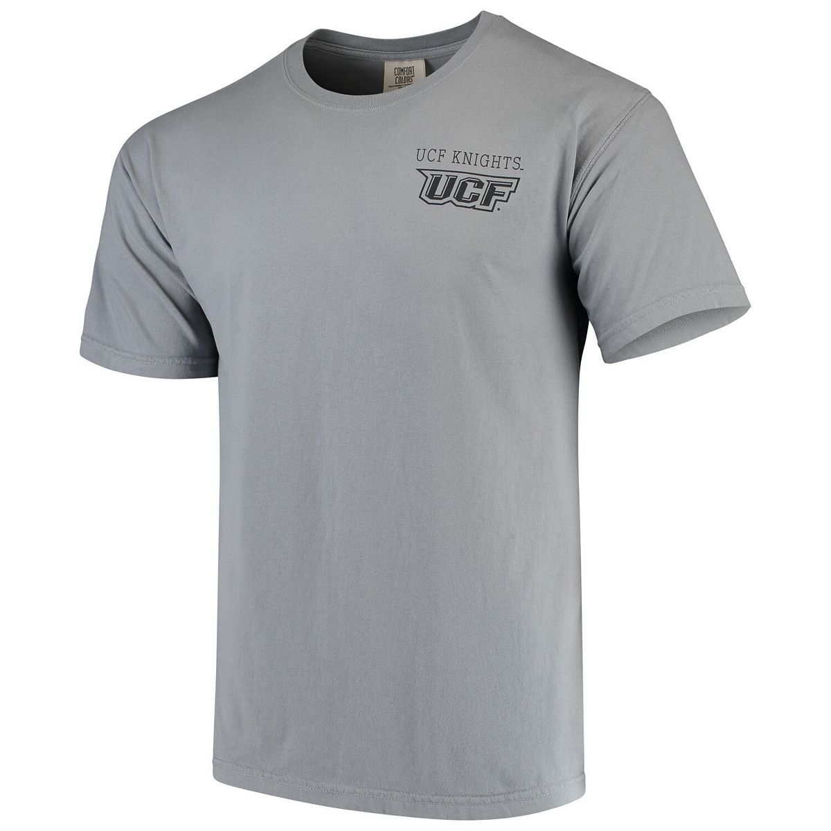 Men's Gray UCF Knights Team Comfort Colors Campus Scenery T-Shirt dV2hR
