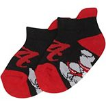 Infant Black Alabama Crimson Tide Footie Socks