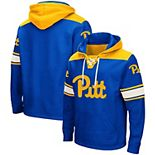 Men's Colosseum Royal Pitt Panthers 2.0 Lace-Up Pullover Hoodie