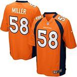 Youth Denver Broncos Von Miller Nike Orange Team Color Game Jersey
