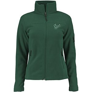 Women's Columbia Green South Florida Bulls Give & Go Full-Zip Jacket