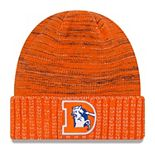 Men's New Era Orange Denver Broncos 2017 Color Rush Knit Hat