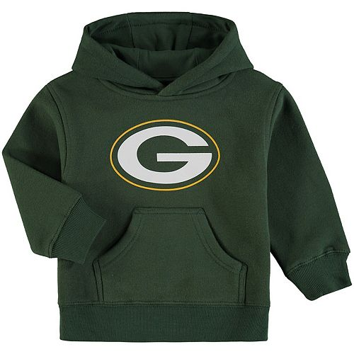 super popular 4361e cc7c1 Toddler Green Green Bay Packers Team Logo Pullover Hoodie