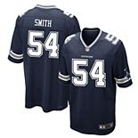 Men's Nike Jaylon Smith Navy Dallas Cowboys Game Jersey