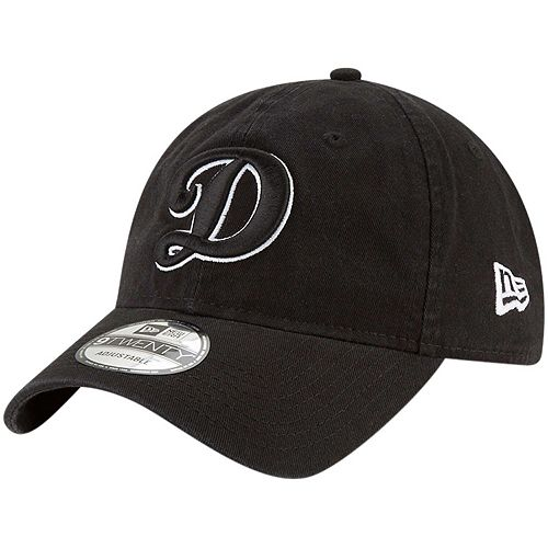 great look cheap prices best sneakers Men's New Era Black Los Angeles Dodgers Core Classic Twill ...