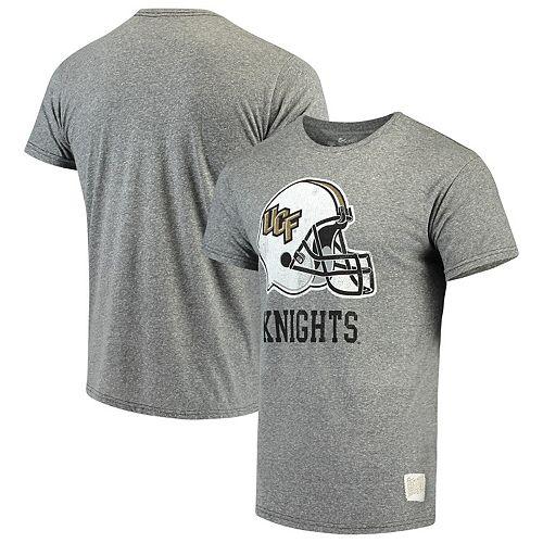 Men's Original Retro Brand Heathered Gray UCF Knights Tri-Blend T-Shirt
