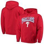Men's Stitches Red Philadelphia Phillies Team Pullover Hoodie