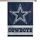 "WinCraft Dallas Cowboys 28"" x 40"" Primary Logo House Flag"
