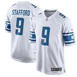 Men's Nike Matthew Stafford White Detroit Lions 2017 Game Jersey