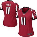 Girls Youth Atlanta Falcons Julio Jones Nike Red Game Jersey