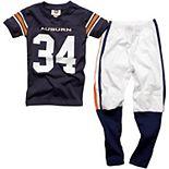 Auburn Tigers #34 Youth Football Pajama Set - Navy Blue