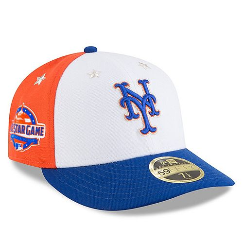 online shop good out x big sale Men's New Era White/Royal New York Mets 2018 MLB All-Star ...
