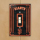 San Francisco Giants Art Glass Switch Plate Cover