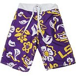 Youth Wes & Willy Purple LSU Tigers Swim Trunks