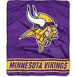 "The Northwest Minnesota Vikings 50"" x 60"" Stabilize Raschel Plush Throw Blanket"