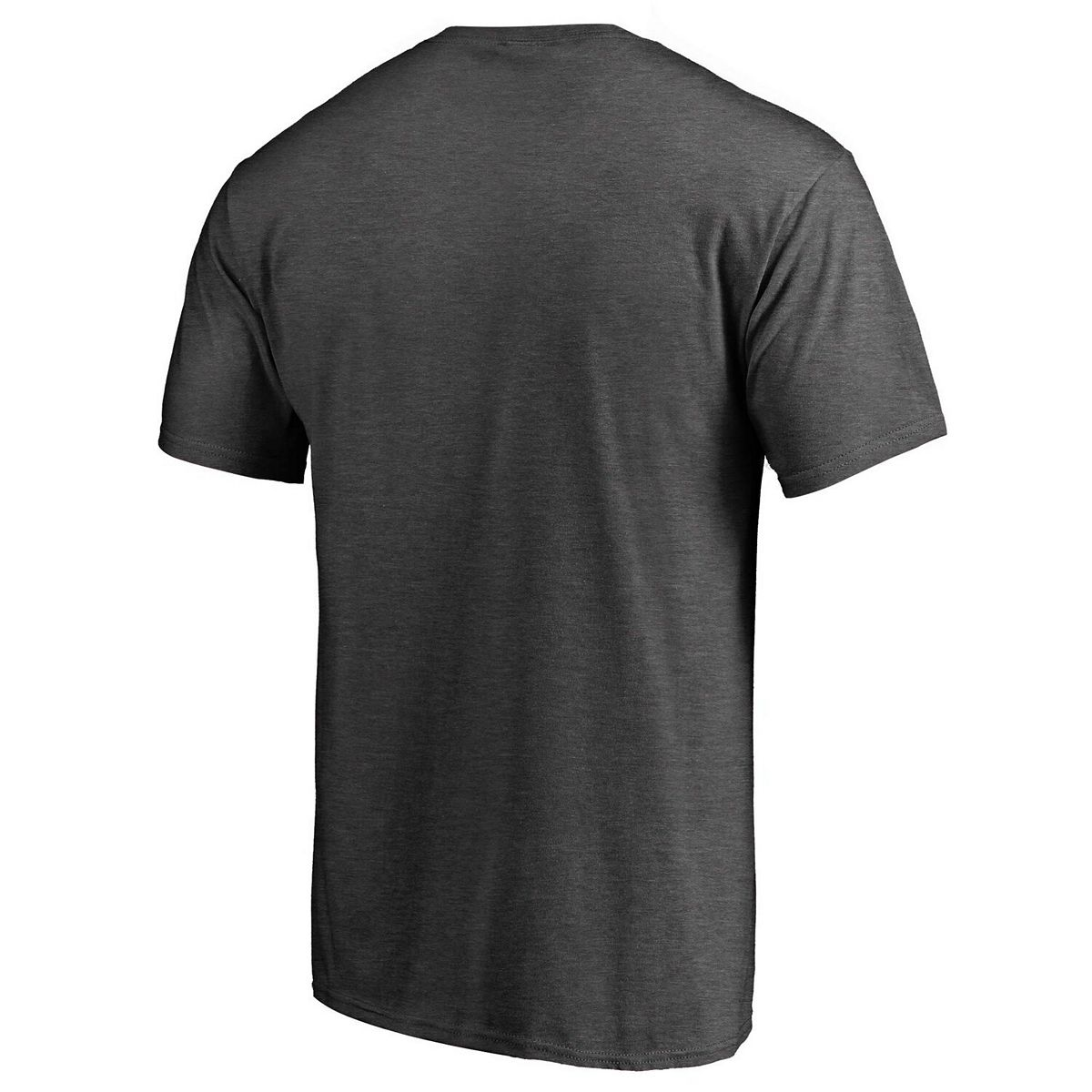 Men's Fanatics Branded Heathered Charcoal Los Angeles Dodgers Win Stripe T-Shirt xKoyE