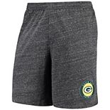 Men's Concepts Sport Charcoal Green Bay Packers Pitch Knit Shorts