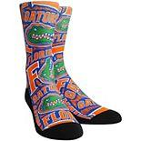 Youth Royal Florida Gators Logo Sketch Crew Socks