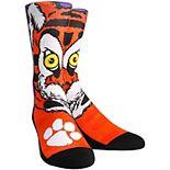 Women's Clemson Tigers Mascot Crew Socks