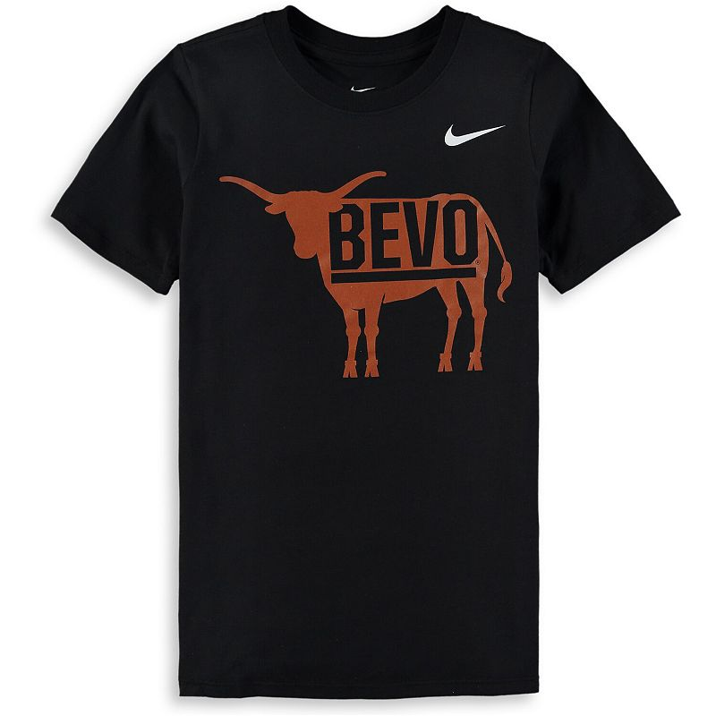Youth Nike Black Texas Longhorns Local T-Shirt, Boy's, Size: YTH Medium