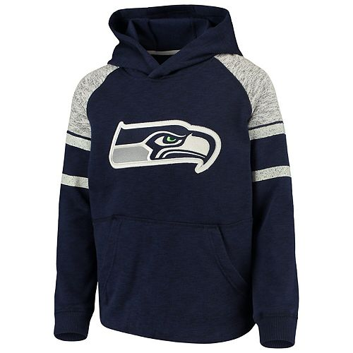 OuterStuff NFL Toddler Seattle Seahawks Poly Fleece Set Navy