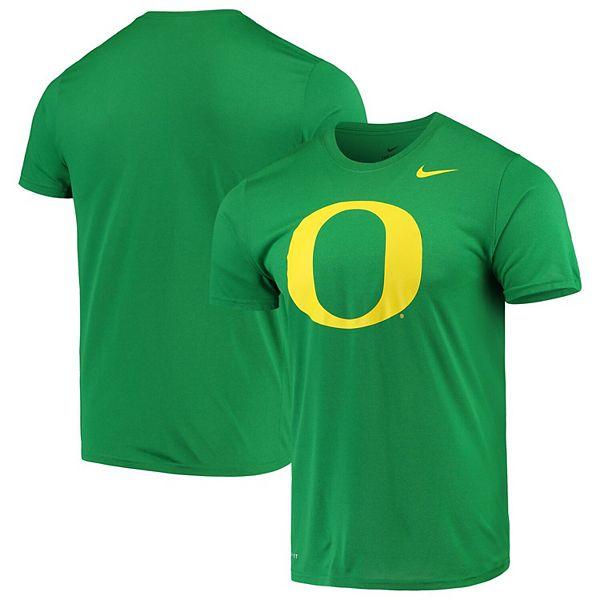 regular Puno Estadístico  Men's Nike Green Oregon Ducks Legend Logo Dri-FIT Performance T-Shirt