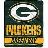 "The Northwest Green Bay Packers 50"" x 60"" Stabilize Raschel Plush Throw Blanket"