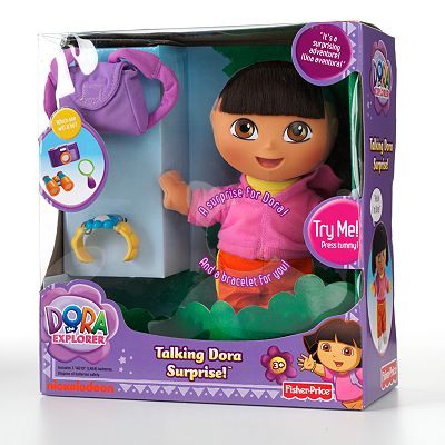 Dora the Explorer Surprise Talking Doll