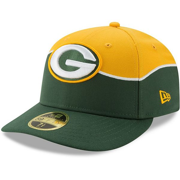 Green Bay Packers New Era 2019 Nfl Draft On Stage Official Low Profile 59fifty Fitted Hat Gold