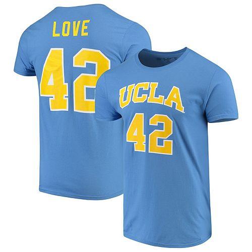 on sale 466e4 d602d Men's Original Retro Brand Kevin Love Blue UCLA Bruins Alumni Basketball  Jersey T-Shirt