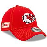 Youth New Era Red Kansas City Chiefs 2019 NFL Sideline Road 39THIRTY Flex Hat