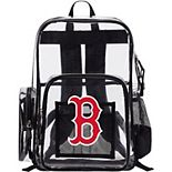 The Northwest Boston Red Sox Dimension Clear Backpack