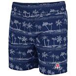 Men's Colosseum Navy Arizona Wildcats Maui Swim Shorts